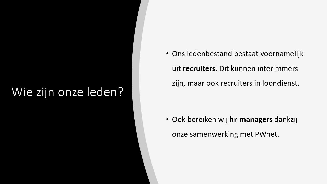 Wie bereikt Recruiters Connected
